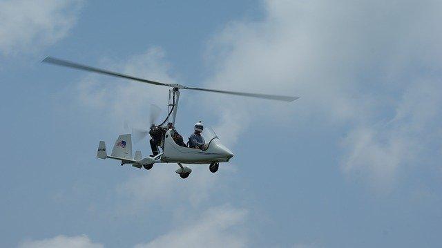 gyrocopter rundflug
