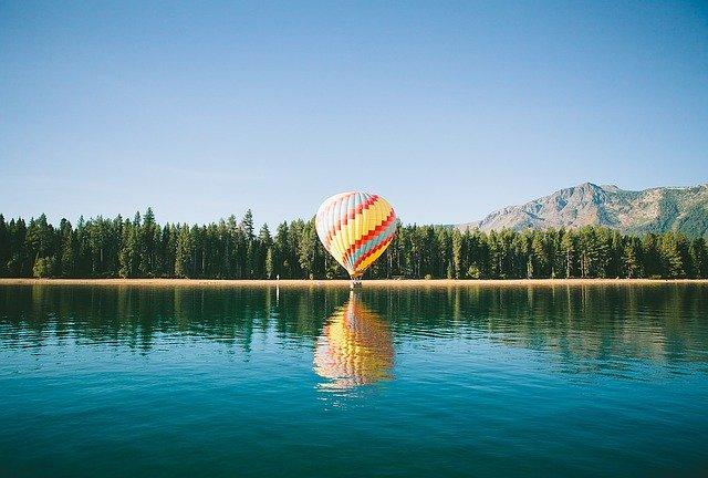 heißluftballon start